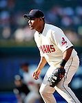 5 September 2009: Cleveland Indians' first baseman Andy Marte in action against the Minnesota Twins at Progressive Field in Cleveland, Ohio. The Indians fell to the Twins 4-1 in the second game of their three-game weekend series. Mandatory Credit: Ed Wolfstein Photo