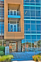 Google's, YouTube, office, buiding, architectural, Exterior, Beverly Hills, CA, , Vertical image