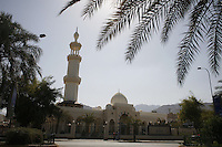 A mosque in Aqaba, Jordan, may 13, 2013. Photo by Oren Nahshon