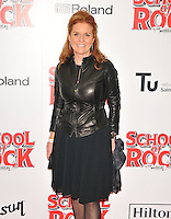 Sarah Ferguson at the &quot;School of Rock: The Musical&quot; VIP opening night, New London Theatre, Drury Lanes, London, England, UK, on Monday 14 November 2016. <br /> CAP/CAN<br /> &copy;CAN/Capital Pictures /MediaPunch ***NORTH AND SOUTH AMERICAS ONLY***