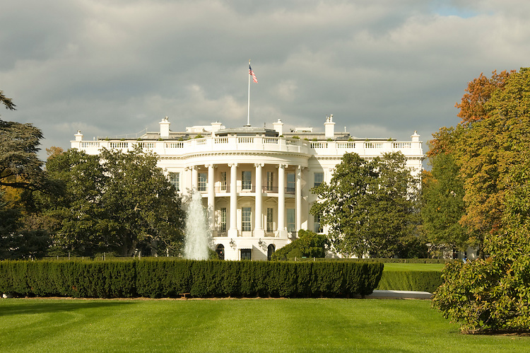 Washington DC USA: The White House, home of the US President.Photo copyright Lee Foster Photo # 1-washdc75458