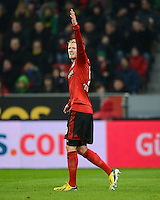 FUSSBALL   1. BUNDESLIGA   SAISON 2012/2013    20. SPIELTAG Bayer 04 Leverkusen - Borussia Dortmund                  03.02.2013 Andre Schuerrle (Bayer 04 Leverkusen)