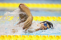 Takeshi Matsuda (JPN), APRIL 10, 2011 - Swimming : 2011 International Swimming Competitions Selection Trial, Men's 400m Freestyle Heat at ToBiO Furuhashi Hironoshin Memorial Hamamatsu City Swimming Pool, Shizuoka, Japan. (Photo by Daiju Kitamura/AFLO SPORT) [1045]