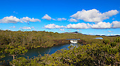 Les Chutes de la Madeleine, rivière des Lacs, Sud de la Nouvelle-Calédonie