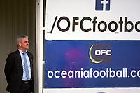 Chris Kemp (Oceania Football) watches the Oceania Football Championship final (second leg) football match between Team Wellington and Auckland City FC at David Farrington Park in Wellington, New Zealand on Sunday, 7 May 2017. Photo: Dave Lintott / lintottphoto.co.nz