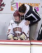 Danielle Welch (BC - 17) - The Boston College Eagles and the visiting University of New Hampshire Wildcats played to a scoreless tie in BC's senior game on Saturday, February 19, 2011, at Conte Forum in Chestnut Hill, Massachusetts.