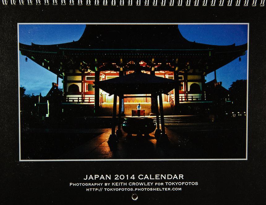 Cover Japan Calendar 2014,