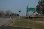 11/7/07 Smith Center, KS.Sign as you enter Smith Center, KS...(Chris Machian/Prairie Pixel Group)