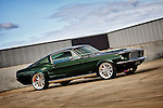 1967 Ford Mustang GT Fastback - Dark Moss Green.Shot on location at Port Melbourne, Victoria.4th June 2011.(C) Joel Strickland Photographics.Use information: This image is intended for Editorial use only (e.g. news or commentary, print or electronic). Any commercial or promotional use requires additional clearance.