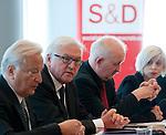 120605: Frank-Walter STEINMEIER for political talks in Brussels