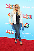 UNIVERSAL CITY, CA - NOVEMBER 16: Kristin Chenoweth attends the press junket for NBC's 'Hairspray Live!' at the NBC Universal Lot on November 16, 2016 in Universal City, California (Credit: Parisa Afsahi/MediaPunch).