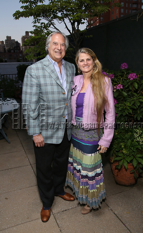 Stewart F. Lane and Bonnie Comley attend The Drama League: Meet The Directing Fellows <br /> Hosted By Stewart F. Lane &amp; Bonnie Comley at a private residence on May 15, 2017 in New York City.