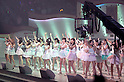 June 6, 2012, Tokyo, Japan - AKB48 members at stage.  AKB General Election at Nippon Budokan. The biggest girl band in the world and Japan's most popular pop group elected its new leader in a nationwide election open to all fans. The collective is organised into different units which in turn are sometimes split into smaller groups. The night involved singing, games, tears and the eventual crowning of new leader Yuko Oshima from Team K with 108837 votes for most popular member..
