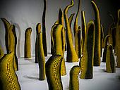 Life, 1998 is part of Yayoi Kusama exhibit at the Hirshhorn Museum in Washington DC 25 February 2017.