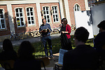 17.6.2014, Potsdam, Universität Potsdam Campus Neues Palais. Israeltag – Lyrik von Prof. Admiel Kosman