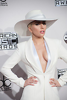 LOS ANGELES, CA. November 20, 2016: Singer Lady Gaga at the 2016 American Music Awards at the Microsoft Theatre, LA Live.<br /> Picture: Paul Smith/Featureflash/SilverHub 0208 004 5359/ 07711 972644 Editors@silverhubmedia.com