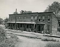 UNDATED..Assisted Housing..Tidewater Gardens (6-2 & 6-9)..Slum Conditions.East Charlotte Street..McIntosh Studio.NEG#.NRHA#..