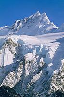 Ocypete mountain and twaharpies glacier, Wrangell St. Elias National Park, Alaska.