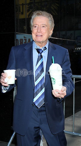 April 05, 2012: Regis Philbin at Good Morning America  in New York City. Credit: RW/MediaPunch Inc.