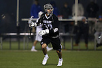 01 March 2015: Providence's Keenan Assaraf. The Duke University Blue Devils hosted the Providence College Friars on the West Turf Field at the Duke Athletic Field Complex in Durham, North Carolina in a 2015 NCAA Division I Men's Lacrosse match. Duke won the game 20-8.