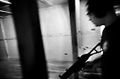 Wlosciejewki 25.07.2009 Poland<br /> Training of the elite security service by European Security Academy ( its founder is living legend Andrzej Bryl ) and Israeli security forces Shin Bet in E.S.A seat in Wlosciejewki ( Poland ). This is the first course for international elite bodyguards, who will protect VIP's and promoters on the FIFA World Cup in RPA 2010 and UEFA European Cup in Poland and Ukraine 2012.<br /> Photo: Adam Lach / Napo Images<br /> <br /> Szkolenie elitarnych sluzb ochroniarzy przez European Security Academy ( jej zalozycielem jest zyjaca legenda dr. Andrzej Bryl ) i izraelskie sluzby bezpieczenstwa Shin Bet. To pierwsze szkolenia dla miedzynarodowych elitarnych ochroniarz, ktorzy beda zabezpieczac VIP'ow i organizatorow podczas Mistrzostw Swiata w pilce noznej RPA 2010 i w trakcie Mistrzostw Europy w Polsce i na Ukrainie w 2012<br /> Fot: Adam Lach / Napo Images