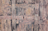 Wooden Door. Nanping. (Anhui Province, CH.) Continental Drift. <br />