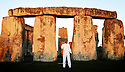 Olympic celebrations at Stonehenge for English Heritage