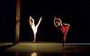 Transfigured Night<br /> Choreography by Kim Brandstrup<br /> at Sadler&rsquo;s Wells, London, Great Britain <br /> press photocall / rehearsal <br /> 3rd November 2015 <br /> <br /> Music by Arnold Schoenberg - Verkl&auml;rte Nacht<br /> Designed by Chloe Lamford<br /> Lighting design by Fabiana Piccioli<br /> <br /> <br /> Simone Damberg W&uuml;rtz<br /> <br />  Hannah Rudd<br /> <br /> <br /> <br /> <br /> Image licensed to Elliott Franks Photography Services