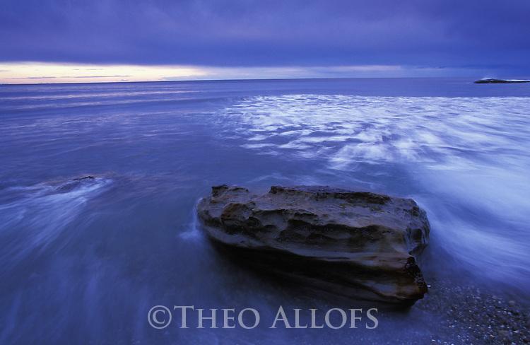 Australia, NSW; Coast at Murramarang National Park at dawn
