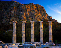 Temple of Athena at Priene, Aegean Sea, Turkey
