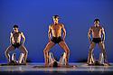 "LONDON, UK. 12/05/2011.  Dutch National Ballet open at Sadler's Wells with Hans Van Manen's ""Master of Dance"". Dancing this section are: Matthew Golding, Igone de Jongh, Marisa Lopez, Anna Tsygankova, Jozef Varga, Anu Viheriaranta, Cedric Ignace, Alexander Zhembrovskyy. Photo credit should read Jane Hobson"