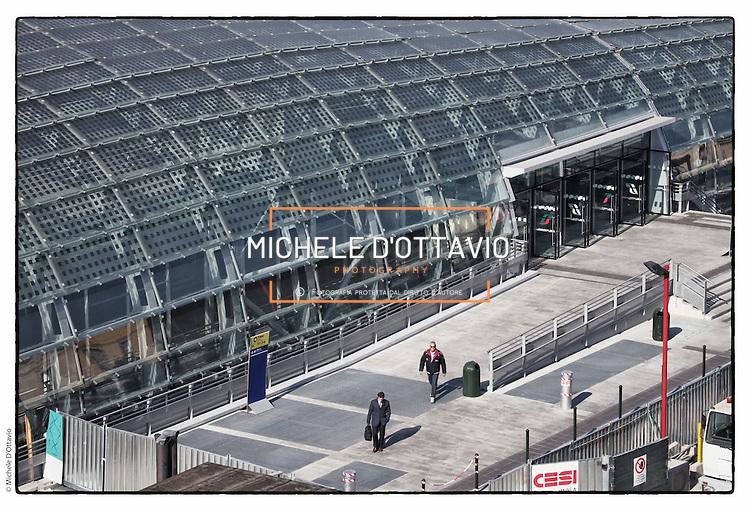 Stazione poreta susa michele d 39 ottavio torino photo library - Porta susa stazione ...