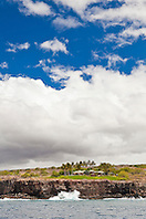 Four Seasons Resort at Manele Bay, Hulopoe Bay, South Lāna'i, Lāna'i aka Pineapple Island because of its past as an island-wide pineapple plantation of Dole, the sixth-largest island of the Hawaiian Islands, Hawaii, USA, Pacific Ocean