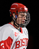 Charlie Coyle (BU - 3) - The visiting University of Vermont Catamounts tied the Boston University Terriers 3-3 in the opening game of their weekend series at Agganis Arena in Boston, Massachusetts, on Friday, February 25, 2011.
