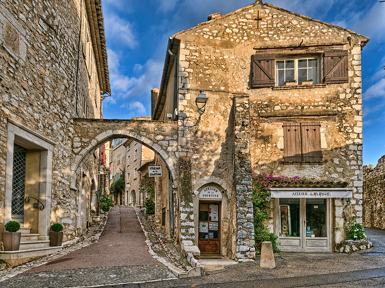 Saint-Paul-de-Vence France  City new picture : Sunrise in Saint Paul de Vence, France
