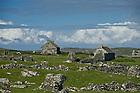 June 6, 2012; Abandoned homes on Inishark Island, Ireland...Photo by Matt Cashore/University of Notre Dame