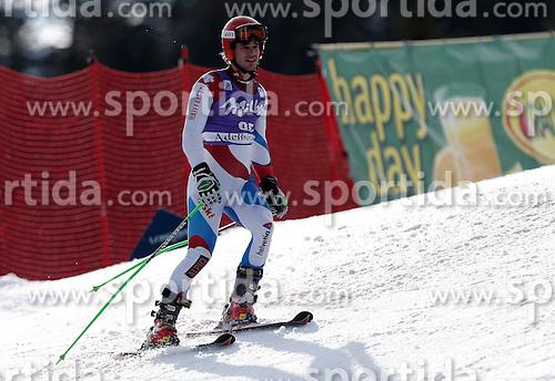 11.01.2014, Adelboden, SUI, FIS Weltcup Ski Alpin, Adelboden, Riesentorlauf, 2. Durchgang, im Bild Thomas Tumler (SUI) // during 2nd run of Men Giant Slalom of FIS Ski Alpine World Cup at Adelboden, Switzerland on 2014/01/11. EXPA Pictures &copy; 2014, PhotoCredit: EXPA/ Freshfocus/ Christian Pfander<br /> <br /> *****ATTENTION - for AUT, SLO, CRO, SRB, BIH, MAZ only*****