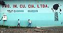 ECUADOR. Lago Agrio shop murals