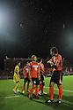 Omiya Ardija team group,..AUGUST 7, 2011 - Football / Soccer :..Kota Ueda #17 and Takuya Aoki (R) of Omiya Ardija before the 2011 J.League Division 1 match between Omiya Ardija 2-2 Vegalta Sendai at NACK5 Stadium Omiya in Saitama, Japan. (Photo by Hiroyuki Sato/AFLO)