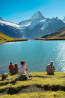 Grindelwald First Lake- Picnic- Grindelwald First- Swiss Alps, Switzerland
