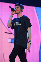 MIAMI, FL - APRIL 13: The Chainsmokers perform at the American Airlines Arena on April 13, 2017 in Miami Florida. <br /> CAP/MPI04<br /> &copy;MPI04/Capital Pictures