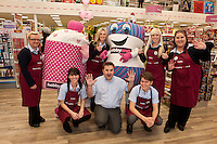 Store manager Marc Arragon with his team