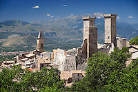 Maiella National Park, Abruzzo, Italy, June 2008. The Medieval Village of Pacentro is home to Ristorante La Furnacella, hwere the proud owners present you with Typical food of the region. Photo by Frits Meyst/Adventure4ever.com