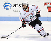 Steve Silva (Northeastern - 17) - The Northeastern University Huskies defeated the visiting Boston College Eagles 2-1 on Saturday, February 19, 2011, at Matthews Arena in Boston, Massachusetts.