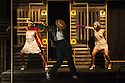 London, UK. 23.10.2014. A HARLEM DREAM choreographed by Ivan Blackstock, opens in the Maria, at the Young Vic. Picture shows: Rhea T-W, Ivan Blackstock and L'atisse Rhoden.. Photograph © Jane Hobson.