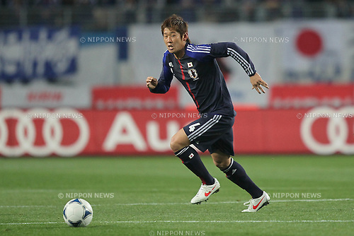 Yuzo Kurihara (JPN), FEBRUARY 24, 2012 - Football / Soccer : KIRIN Challenge Cup 2012 mach between Japan 3-1 Iceland at Nagai Stadium in Osaka, Japan. (Photo by Akihiro Sugimoto/AFLO SPORT) [1080]
