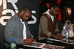New York Giants' Ahmad Bradshaw and Fabolous Attend A Fabolous Way Foundation's 1st Annual 3 Kings Coat Drive wraps-up Press Conference and Autograph Signing In Conjunction With Dr. Jays, NY Cares, and Hot 97 Held at Dr. Jays 34th Street Store, NY  12/1/11