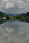 Lake Haldensee, Nesslewangle, Reutte district. Austria.The Alps