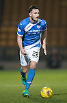 St Johnstone v Stenhousemuir&hellip;21.01.17  McDiarmid Park  Scottish Cup<br />Keith Watson<br />Picture by Graeme Hart.<br />Copyright Perthshire Picture Agency<br />Tel: 01738 623350  Mobile: 07990 594431