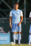 28 August 2015: North Carolina's Colton Storm. The University of North Carolina Tar Heels hosted the Florida International University Panthers at Fetzer Field in Chapel Hill, NC in a 2015 NCAA Division I Men's Soccer match. North Carolina won the game 1-0